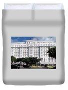 Copacabana Palace Duvet Cover