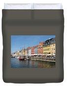 Copenhagen Harbor Duvet Cover