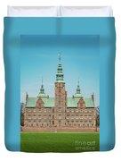 Copenhagen Rosenborg Castle Facade Duvet Cover