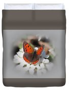 Copper Glow - Butterfly Duvet Cover