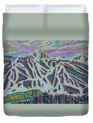 Copper Mountain Duvet Cover
