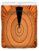 Copper Panel Abstract Duvet Cover