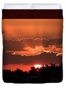 Copper Sunset Duvet Cover