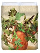Copper Watering Can Duvet Cover