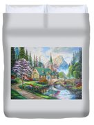 copy of Dogwood Chapel Duvet Cover