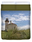 Coquille Lighthouse H Duvet Cover
