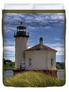 Coquille Lighthouse V Duvet Cover