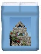 Coral Castle For Love Duvet Cover