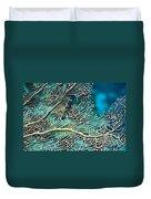 Coral Texture Duvet Cover