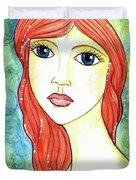 Coralia, The Mermaid Duvet Cover