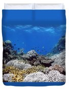 Corals Garden Duvet Cover