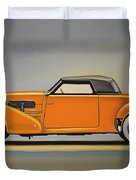 Cord 810 1937 Painting Duvet Cover