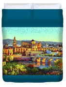 Cordoba Mosque Cathedral Mezquita Duvet Cover