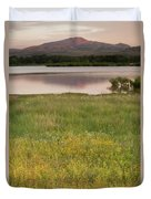 Corepsis Blooming At The Quanah Parker Lake Duvet Cover