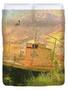 Corfu 25 High And Dry Duvet Cover