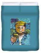 Cork Fisherman Duvet Cover