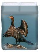 Cormorant Wings Duvet Cover