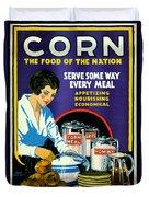 Corn 1918 Duvet Cover