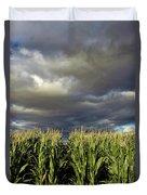 Corn Field Beform Storm Duvet Cover