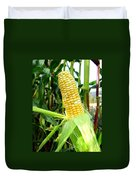Corn On The Cob Duvet Cover