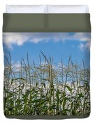 Corn Tassels In The Sky Duvet Cover