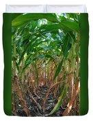 Corn Tunnel Duvet Cover