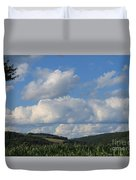 Cornfield With A View Duvet Cover