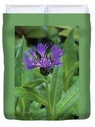 Cornflower Purple Surprise V1 Duvet Cover