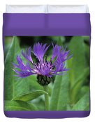 Cornflower Purple Surprise V2 Duvet Cover