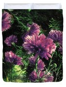 Cornflowers Autumngraphy - Photopainting Light Duvet Cover