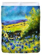 Cornflowers In Ver Duvet Cover