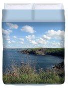 Cornwall Coast 4 Duvet Cover