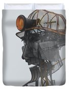 Cornwall Man Engine Duvet Cover