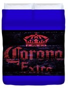 Corona Beer Sign 1a Duvet Cover