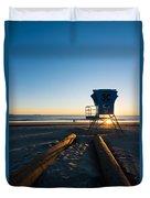 Coronado Lifeguard Station Duvet Cover