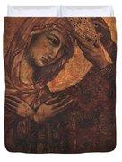 Coronation Of The Virgin 1311 Duvet Cover