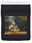 Corot - The Mill Duvet Cover