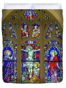 Corr Hall Stain Glass Duvet Cover