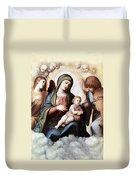 Correggio Painting Duvet Cover