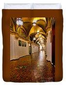 Corridor Of Power In Harrisburg Duvet Cover