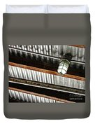 Corrugated Metal Abstract 10 Duvet Cover