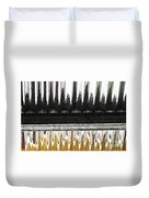 Corrugated Metal Abstract 8                              Duvet Cover