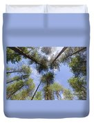 Corsican Pine Canopy Duvet Cover