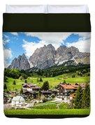 Cortina D'ampezzo, Italy Duvet Cover