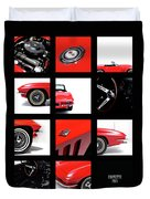 Corvette 1965 Duvet Cover