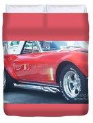 Corvette Soft Top Duvet Cover