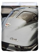 Corvette Split Window Duvet Cover