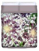 Cosmic Blooms Duvet Cover
