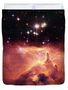 Cosmic Cave Duvet Cover