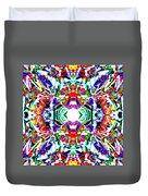 Cosmic Clam Duvet Cover